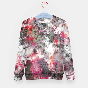 Thumbnail image of Frosty pink Kid's sweater, Live Heroes