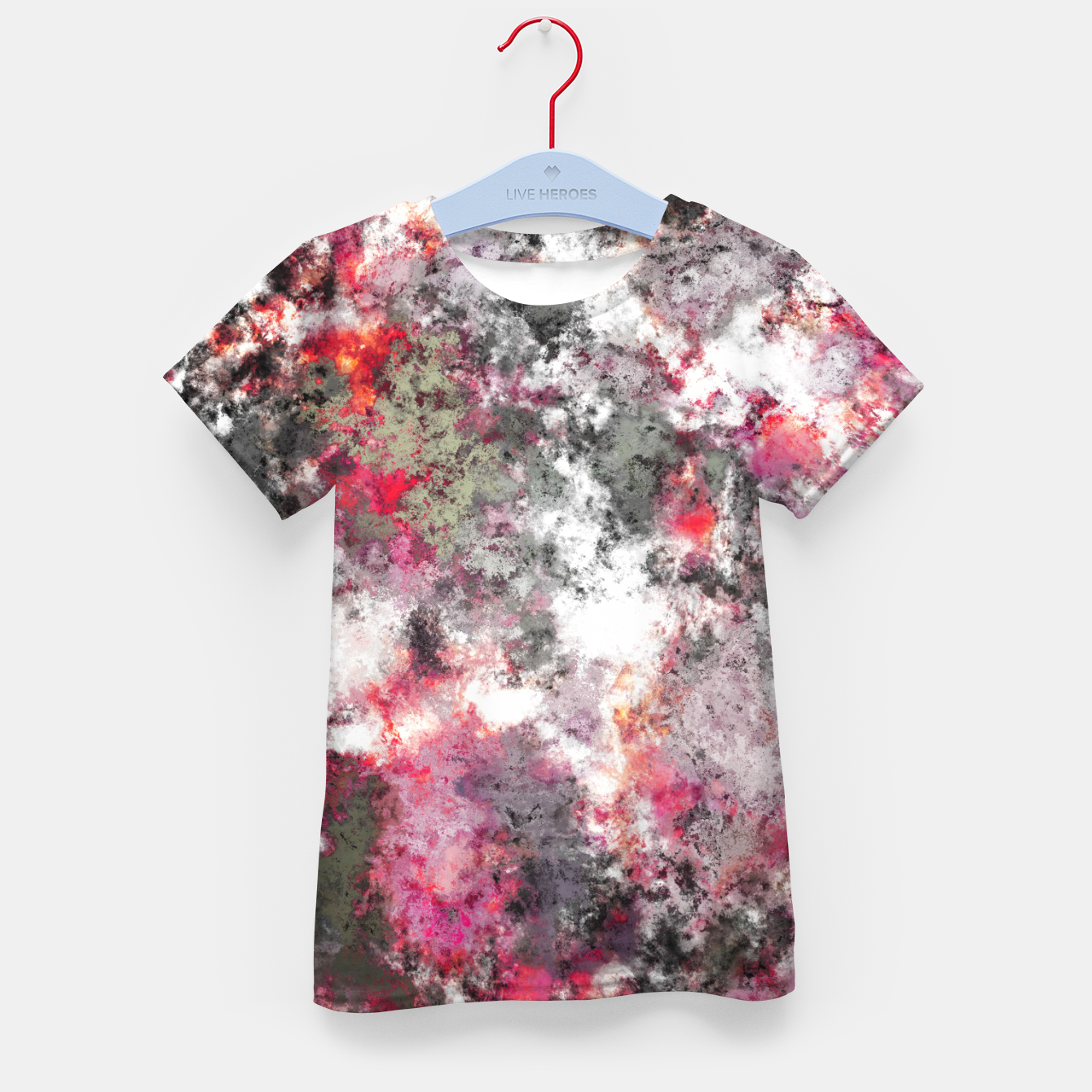 Image of Frosty pink Kid's t-shirt - Live Heroes