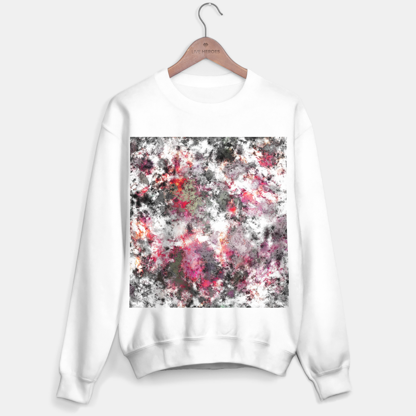 Image of Frosty pink Sweater regular - Live Heroes