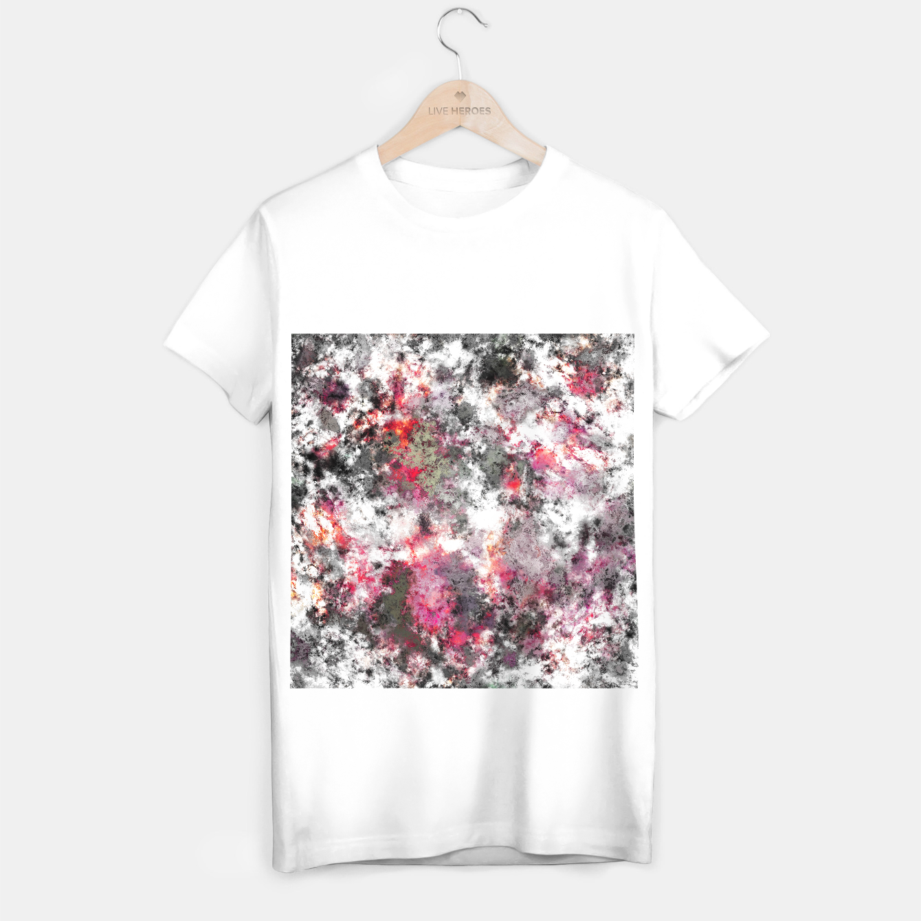 Image of Frosty pink T-shirt regular - Live Heroes
