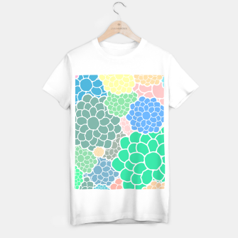 Thumbnail image of Blooming chrysanthemums flowers in pastel colors T-shirt regular, Live Heroes
