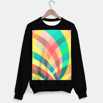 Miniaturka In the circus, colorful pastel shapes  Sweater regular, Live Heroes