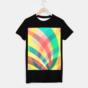 Miniaturka In the circus, colorful pastel shapes  T-shirt regular, Live Heroes