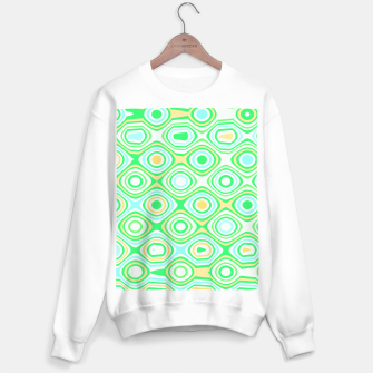 Miniaturka Asymmetry collection: the green forest  Sweater regular, Live Heroes