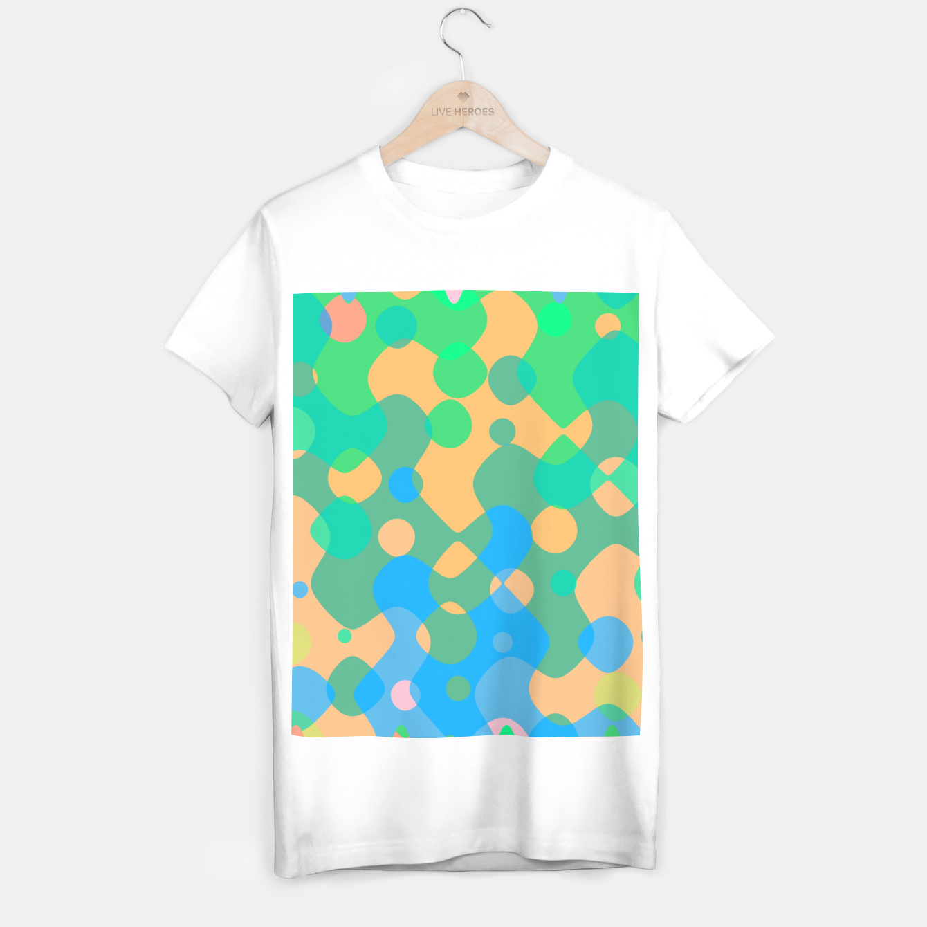 Image de Asymmetry collection: imagination  T-shirt regular - Live Heroes