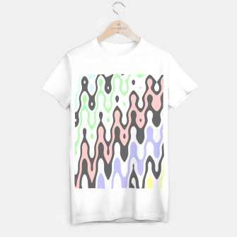 Miniature de image de Asymmetry collection: waves T-shirt regular, Live Heroes