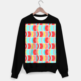 Thumbnail image of Left and right arrows, directions print  Sweater regular, Live Heroes