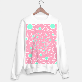 Tunnel of bubbles, pink and blue Sweater regular miniature
