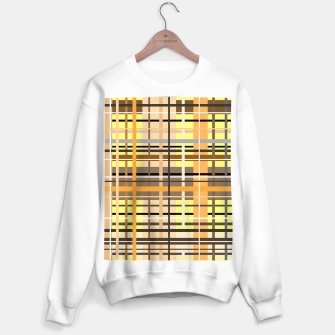 Miniaturka Sunny tartan plaid pattern Sweater regular, Live Heroes