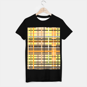 Miniaturka Sunny tartan plaid pattern T-shirt regular, Live Heroes