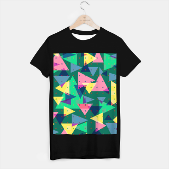 Miniaturka Triangles, my favorite geometric shapes  T-shirt regular, Live Heroes