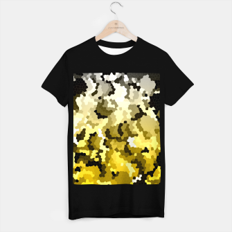 Miniaturka Golden crystals print T-shirt regular, Live Heroes