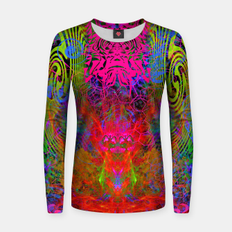 Thumbnail image of Meditation Vertigo Women sweater, Live Heroes