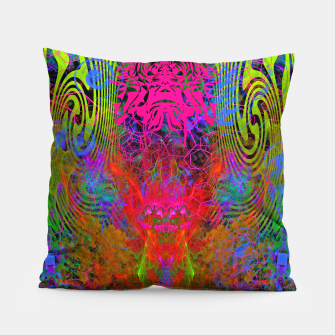 Thumbnail image of Meditation Vertigo Pillow, Live Heroes