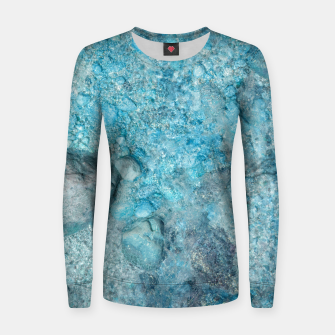 Thumbnail image of Ice cold water Frauen sweatshirt, Live Heroes