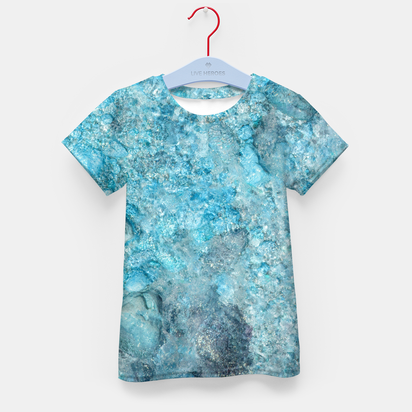 Image of Ice cold water T-Shirt für kinder - Live Heroes