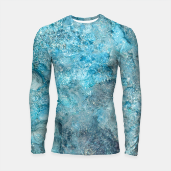 Thumbnail image of Ice cold water Longsleeve rashguard, Live Heroes