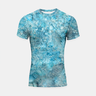 Thumbnail image of Ice cold water Shortsleeve rashguard, Live Heroes