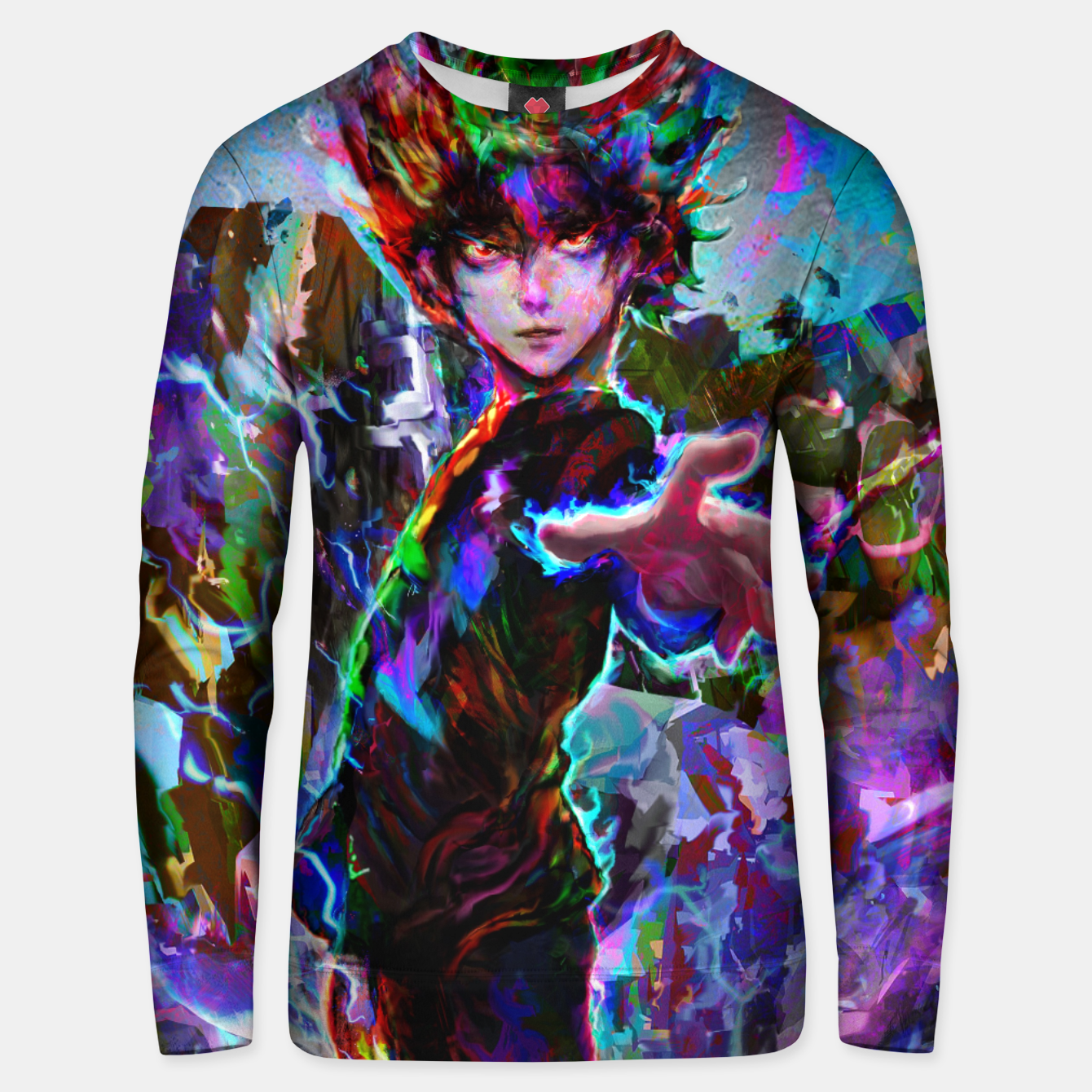 Image of mob psycho 100 Unisex sweater - Live Heroes