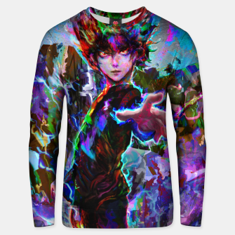 Thumbnail image of mob psycho 100 Unisex sweater, Live Heroes