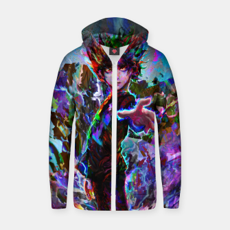 Thumbnail image of mob psycho 100 Zip up hoodie, Live Heroes