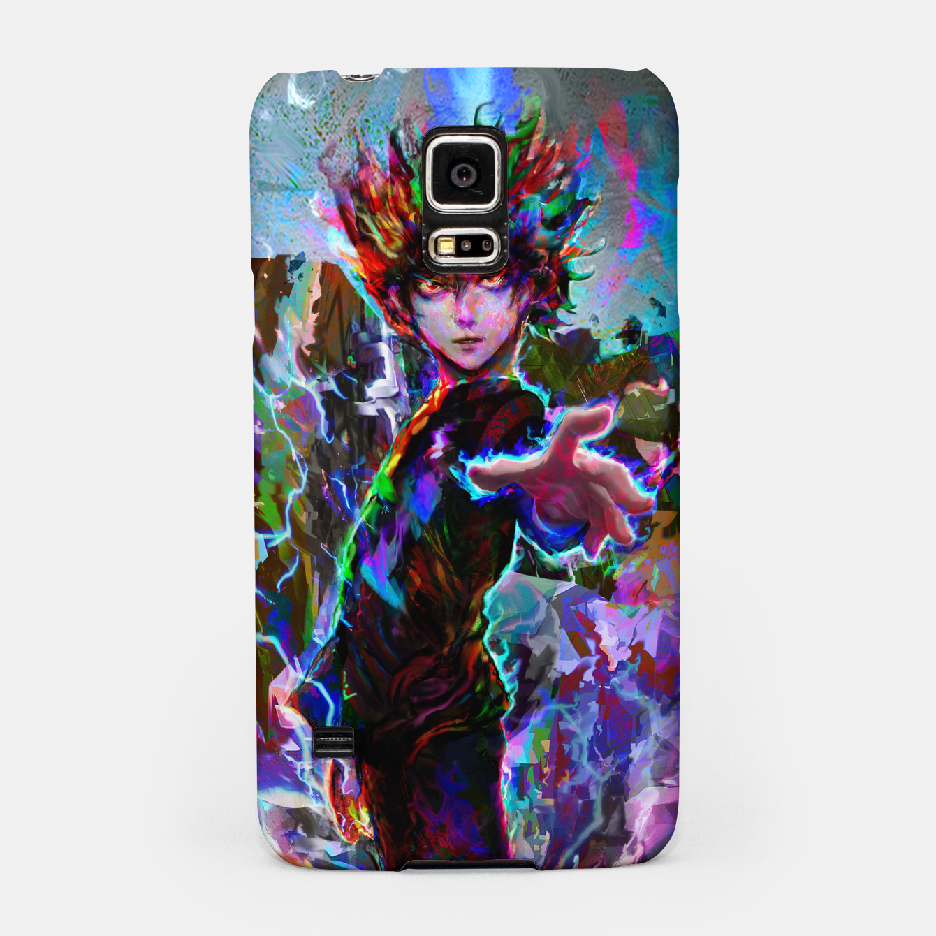 Image of mob psycho 100 Samsung Case - Live Heroes