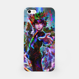 Miniature de image de mob psycho 100 iPhone Case, Live Heroes