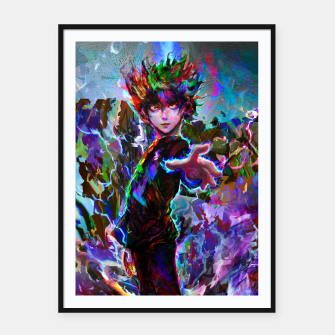 Thumbnail image of mob psycho 100 Framed poster, Live Heroes