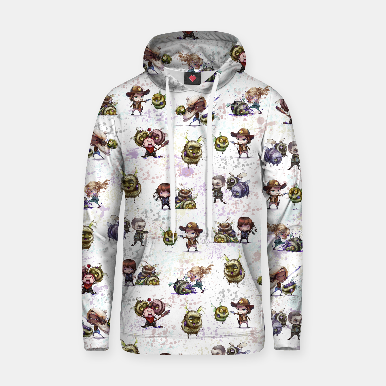 Image of TWD ZomBee Hoodie - Live Heroes