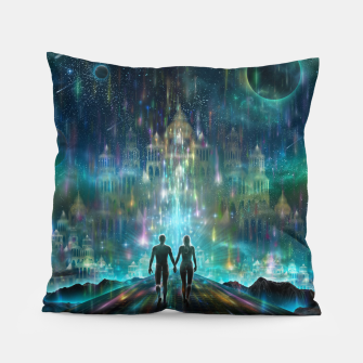 Thumbnail image of Almost Home Pillow, Live Heroes