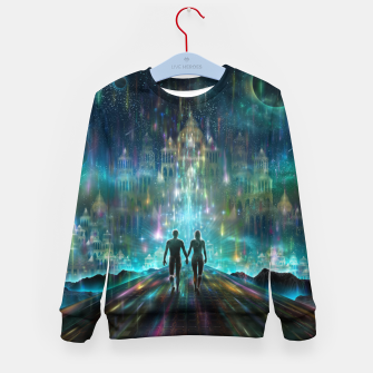 Thumbnail image of Almost Home Kid's sweater, Live Heroes