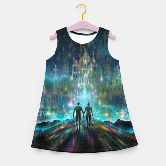 Thumbnail image of Almost Home Girl's summer dress, Live Heroes
