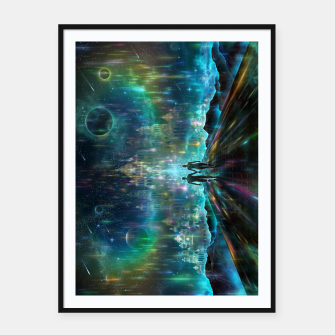 Thumbnail image of Almost Home Framed poster, Live Heroes