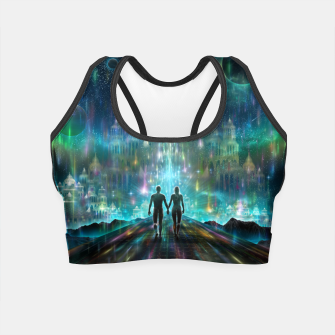Thumbnail image of Almost Home Crop Top, Live Heroes