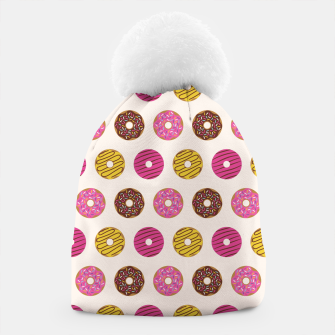 Thumbnail image of Sweet Donuts Pattern Gorro, Live Heroes