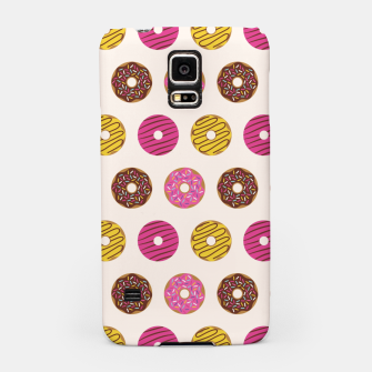 Miniatur Sweet Donuts Pattern Carcasa por Samsung, Live Heroes