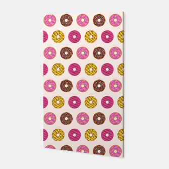 Thumbnail image of Sweet Donuts Pattern Canvas, Live Heroes
