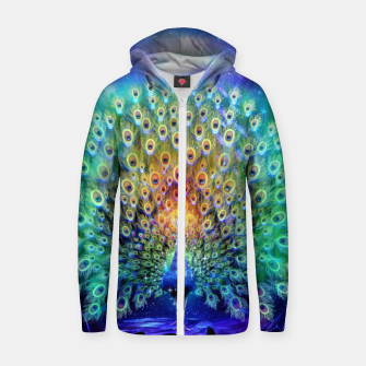 Thumbnail image of The eternal trance Zip up hoodie, Live Heroes