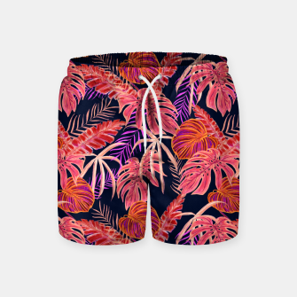 Miniature de image de Dark Tropical Swim Shorts, Live Heroes