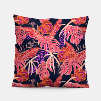 Miniature de image de Dark Tropical Pillow, Live Heroes