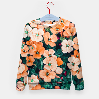 Thumbnail image of Floral Bliss Kid's sweater, Live Heroes