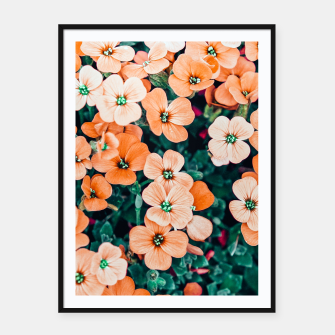 Thumbnail image of Floral Bliss Framed poster, Live Heroes