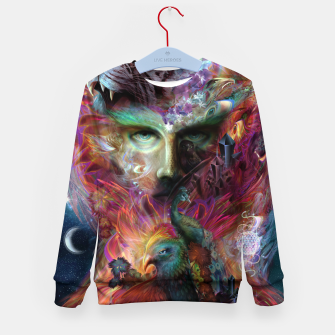 Thumbnail image of Shapeshifter Kid's sweater, Live Heroes