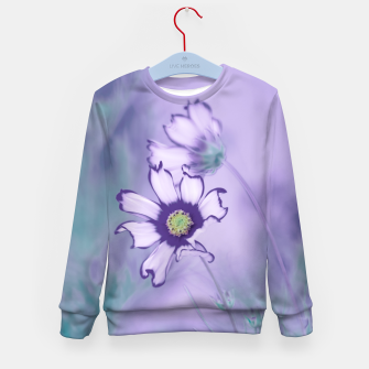 Thumbnail image of Flowerpower #1 Kid's sweater, Live Heroes