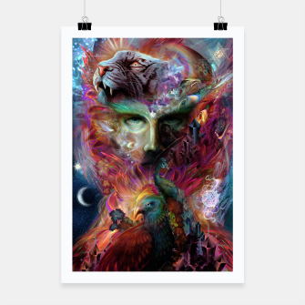 Thumbnail image of Shapeshifter Poster, Live Heroes