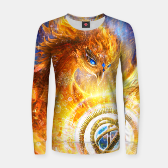 Thumbnail image of The Year of the Phoenix Women sweater, Live Heroes