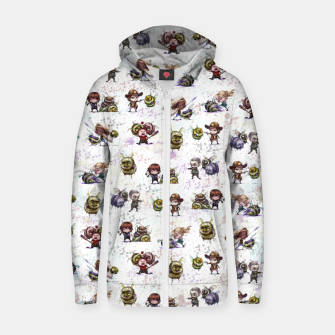 Miniature de image de TWD ZomBees Zip Up Hoodie, Live Heroes