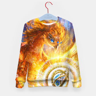 Thumbnail image of The Year of the Phoenix Kid's sweater, Live Heroes