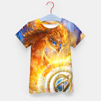 Thumbnail image of The Year of the Phoenix Kid's t-shirt, Live Heroes