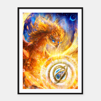 Thumbnail image of The Year of the Phoenix Framed poster, Live Heroes